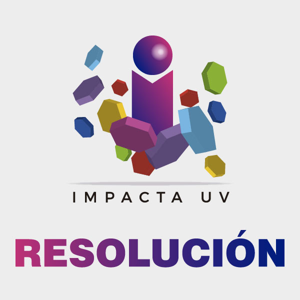 Resolución de adjudicación Impacta UV 2019